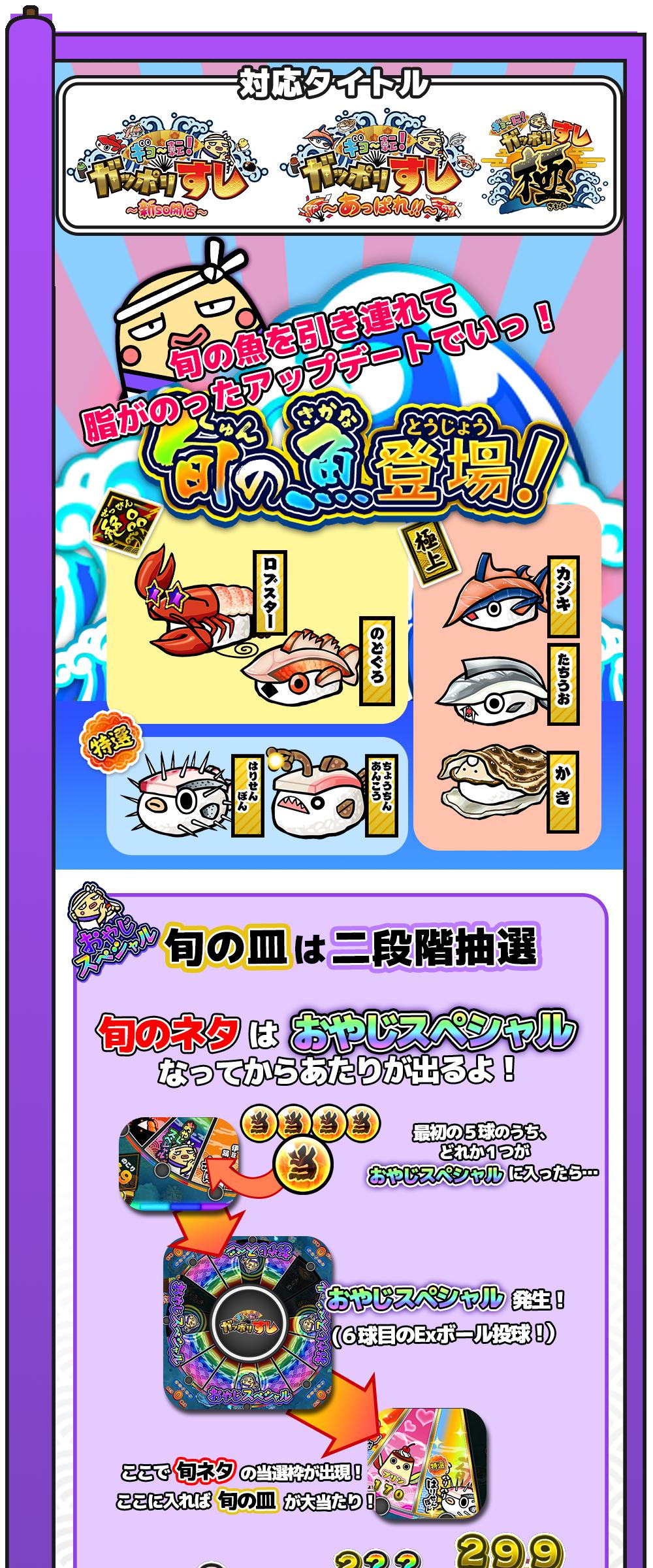 旬の魚登場!